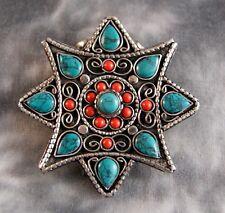 Amulett Gau ~ Stern ~ Prayer Box ~ Tibet Nepal (1428)