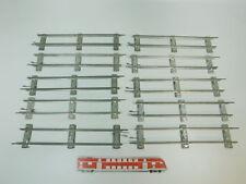 bk316-1 #10x MÄRKLIN escala 0 Vía / piezas de Vía Recto (26 cm) PARA