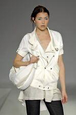 Stunning designer Kaviar Gauche white cream jacket fit UK size 10