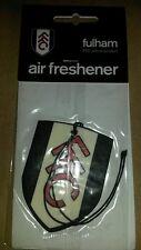 Fullham FOOTBALL CLUB air freshner il cottagers i bianchi Craven Cottage