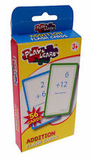 Addition Educational Flashcards - Childrens Teaching Resource New F003