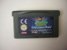 Nintendo Game Boy Advance Bob l'Eponge : Silence on Tourne ! GBA