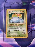 Venusaur 15/102 Base Set Holo Foil 1999 Pokemon Card Rare