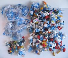 8 LBS Lot THE SMURFS Action Figure Toy PVC Cake Topper Schleich Peyo Mcdonalds 4