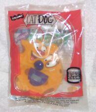 NOS 1999 Nickelodeon CatDog Cat Dog Keychain Digital Watch Burger King