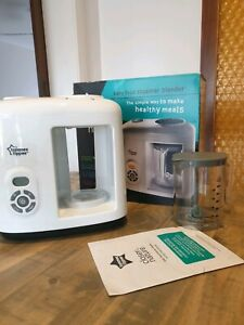 Tommee tippee baby food steamer and blender closer to nature