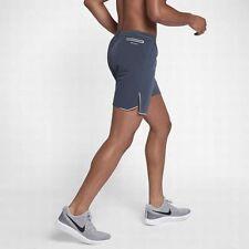 "Nike Aeroswift Max Mens 7"" Running Athletic Shorts Blue Size XXL 2XL 852317-471"