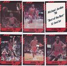 MICHAEL JORDAN BEST OF THE BEST SET COMPLET 12 NBA CARD