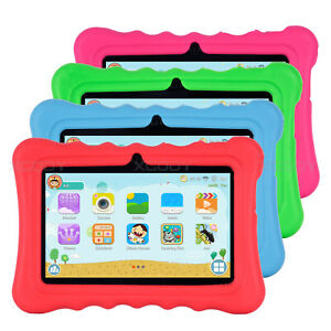 For 7 inch Tablet Silicone Tablet Case Waterproof Shockproof Stand Cheap 4 Color