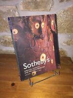 African Oceanic Pre-columbian Art | Catalogue Sotheby's 2004  | Art africain