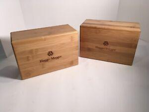 Hugger Mugger Wood Yoga Blocks( Set Of Two)