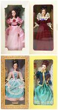 Mattel Special Edition Hallmark Lot Of 4 Barbie Dolls NRFB