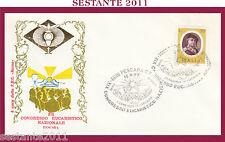 W543 VATICANO FDC ROMA CONGRESSO EUCARISTICO NAZIONALE PESCARA 1977