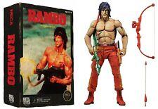 "Classic 1988 Video Game Appearance RAMBO 7"" Action Figure NECA Nintendo NES"