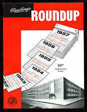 1957 Rawlings Roundup Sports Equipment Yearbook