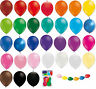 "12"" Linking balloons assorted colours latex baloons for wedding all occassions"