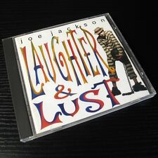 Joe Jackson - Laughter and Lust 1991 JAPAN CD 1st Press VJCP-28034 #107-3