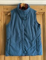 Ladies Seasalt Blue Padded Showerproof Natalie Gilet UK Size 12