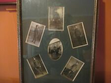 Framed Photos Of British Cavalry Officer