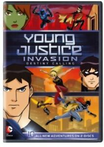 YOUNG JUSTICE INVASION DESTINY CALLING: SEASON 2 NEW DVD