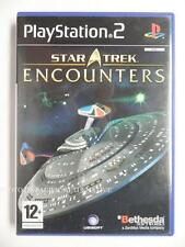 COMPLET jeu STAR TREK ENCOUNTERS sur playstation 2 PS2 en francais spiel gioco