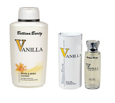 Bettina Barty Vanilla Hand and Bodylotion 500ml & EDT 50ml Sparset !