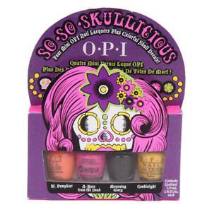 OPI Nail Polish Mini's - So So Skullicious - Halloween Collection - 4 x 3.75ml