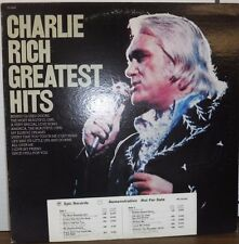 Charlie Rich Greatest Hits DEMO 33RPM PE34240   110516LLE