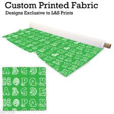 Telas y tejidos color principal verde de poliéster para costura y mercería
