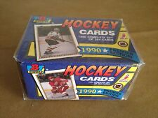 1990 Bowman Hockey Cards Premier Set of 264 Cards Factory Sealed