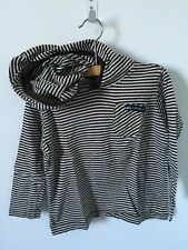 Quiksilver Toddler Boys Brown/Beige Stripes L/S Hoodie Sweater Size 2T
