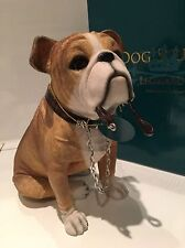 Sitting English Bulldog Ornament Dog Figurine Gift Present