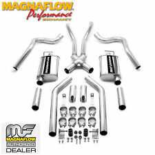 """MAGNAFLOW 15816 2.5"""" CAT BACK DUAL REAR EXIT EXHAUST KIT 67-70 FORD MUSTANG"""