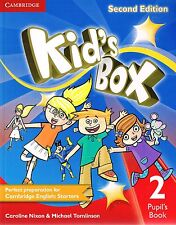 Cambridge KID'S BOX  Pupil's Book Level 2 SECOND EDITION by Tomlinson @NEW 2014