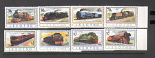 Lesotho 1993 Steam/Trains/Rail/Transport 8v set n16107
