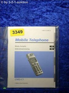 Sony Manual Cmd C1 Mobile Telephone (#3349)
