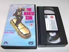 The Naked Gun: From The Files Of Police Squad! - Leslie Nielsen - VHS Video