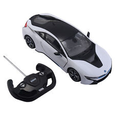 1:14 BMW I8 Licensed Radio Remote Control RC Car w/Opening Vertical Door White
