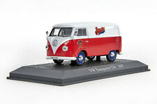 LNB 0368 Atlas Verlag VW Transporter T1b Sarotti (1957), Druckguss, weiß/rot,OVP