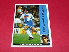 SEBASTIAN HERRERA ESPANYOL BARCELONA PANINI LIGA 95-96 ESPANA 1995-1996 FOOTBALL
