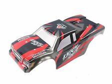 Himoto E10 1:10 Monster Truck Body Rojo.