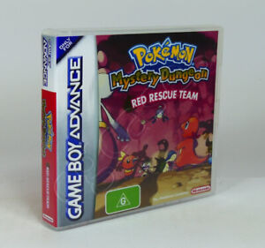 Game Boy Advance GBA Game CASE ONLY - Pokemon Mystery Dungeon Red Rescue Team