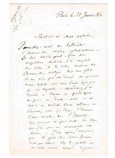 LE COMPOSITEUR ANTOINE ELWART VOUDRAIT ETRE JOUE SUR LA SCENE PARISIENNE EN 1862