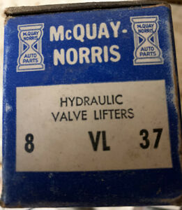 Engine Valve Lifter-Hydraulic McQuay-Norris VL37 2131683 GM 1962 - 1995 Set of 8