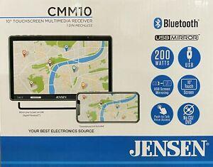 "NEW Jensen CMM10 1-DIN Digital Media Car Stereo, 10.1"" Touchcreen, USB Mirroring"