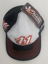 NASCAR Kurt Busch #41 Hat, Embroidered, Stewart Haas Racing, Black/Red **NWT**