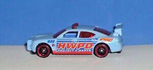 2014 HOT WHEELS CITY DODGE CHARGER DRIFT CAR. - Loose