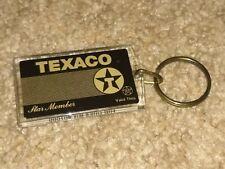 Vintage Texaco Star Member Keychain Automobile Advertising Gas Station
