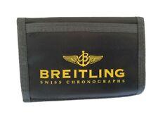 Breitling black nylon billfold