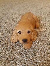 Sandicast Cocker Spaniel pup dog, buff, Original size